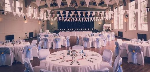 Image shows the Nineteen 32 venue set up for a wedding