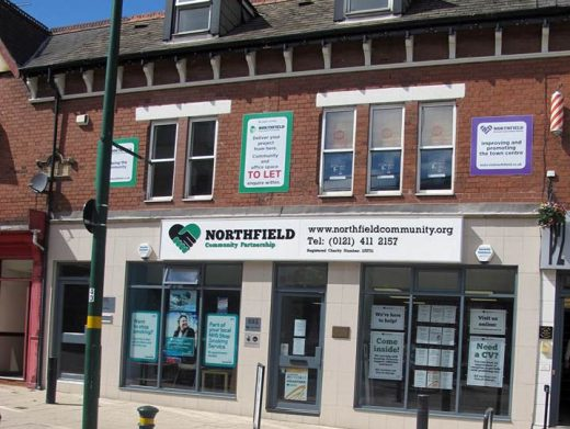 The front of the Northfield Community Partnership