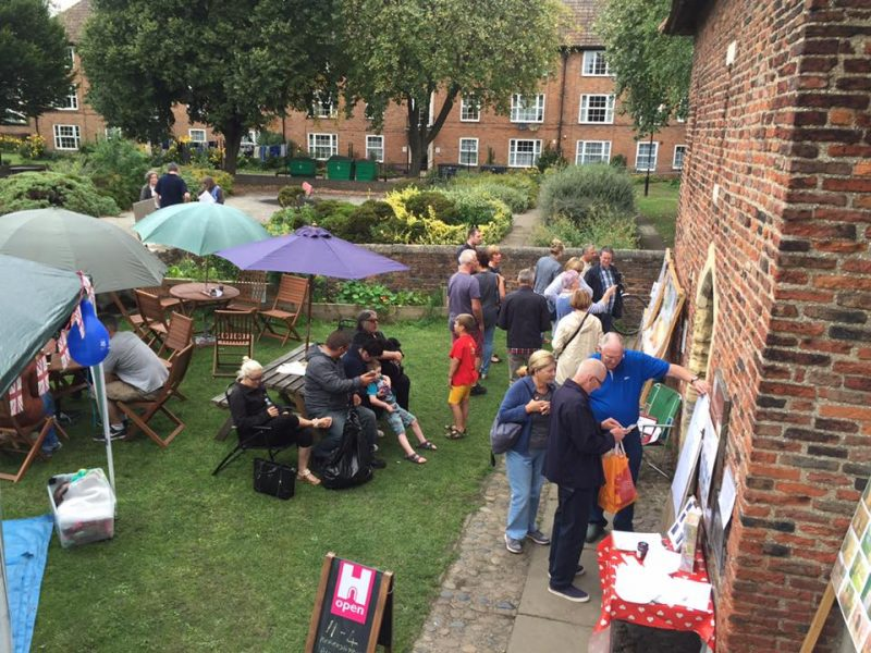 Community activities at the Red Tower